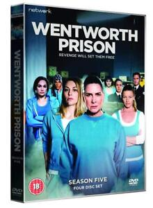 Wentworth-Prison-Complete-Series-5-DVD-NEW-amp-SEALED-4-Discs-Season-5