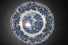 """Vintage Booths Silicone China, """"BRITISH SCENERY"""" 8.1/4"""" Salad Plate."""