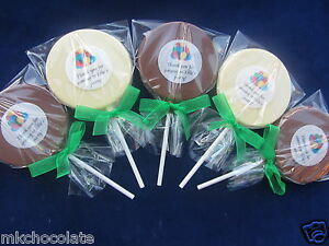 Image Is Loading Personalised Thank You Chocolate Lollipops Sweets Party Bag