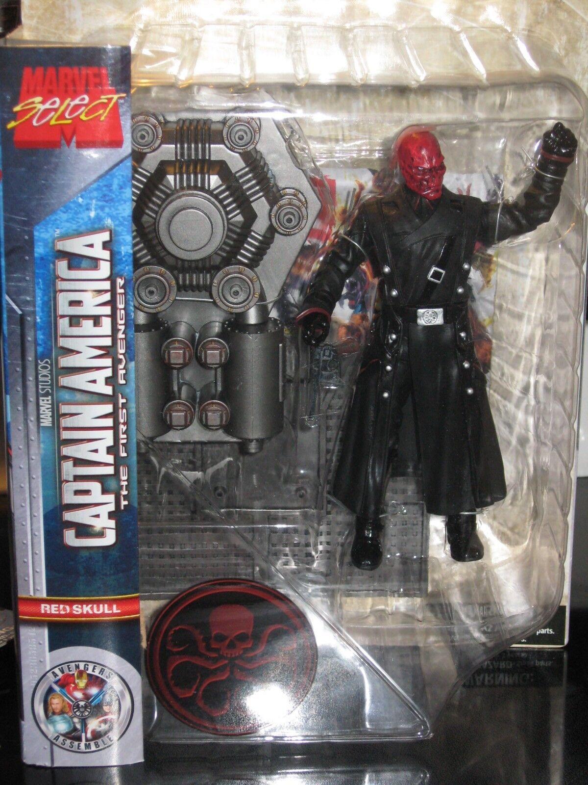 Marvel Select 1st Avenger Red Skull Action Figure