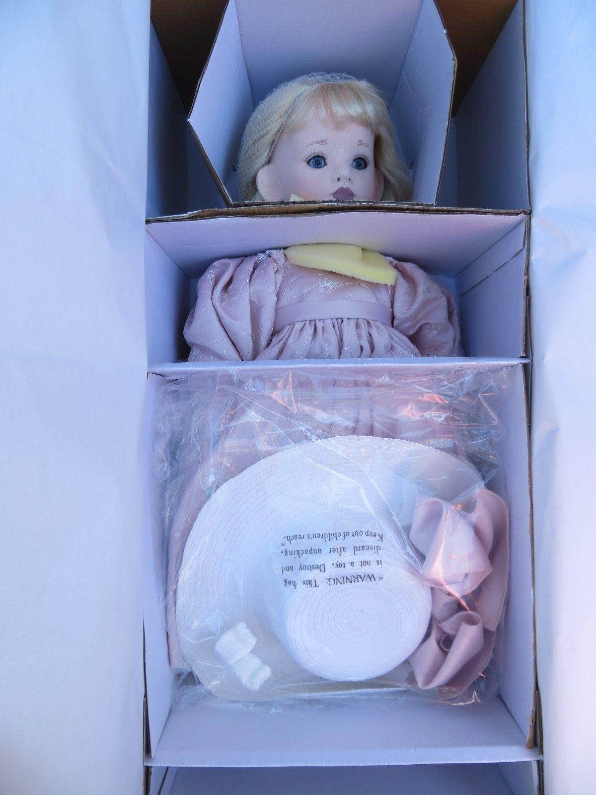 TAWNY NIX Original Designs  Georgianna  LARGE Cloth Over Porcelain Doll LE  NRB