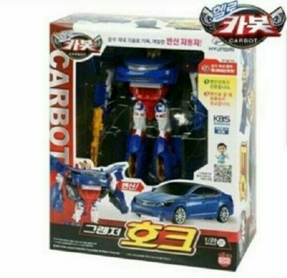 Sale Grandeur Hawk Car Hello Carbot Premium Transformer Play Set Toy Gift_egcq