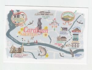 Mint-Map-Postcard-of-Cardigan-by-Star-Editions