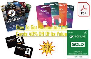 How-To-Get-Discounted-Gift-Cards-40-Off-Of-Its-Value-Netflix-Amazon-iTunes