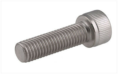 3mm x.5x30mm QTY 100 Stainless Metric Socket Head Screw