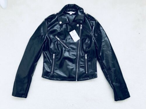 6 Black Bnwt Selfridge Jacket Miss Size Petite Uk Women's Biker YCPvPSAxn