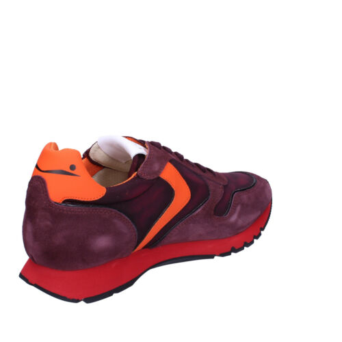 pour Orange Ab692 g hommes Violet Suede Chaussures Sneakers Voile Blanche 44 POOwdqB