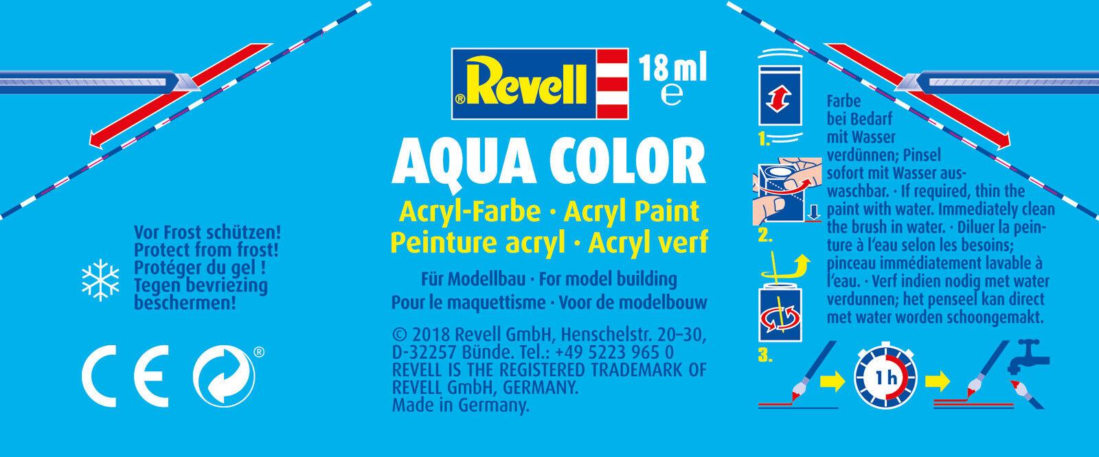 18ml Revell Aqua RV36192 Aqua Brass Metallic