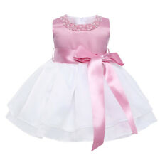 90628d363bbe Szyl Baby Girls Lace Baptism Flower Dress Wedding Pegeant Tutu 3-6 ...