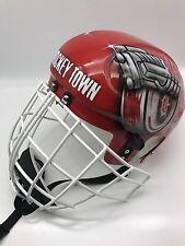 Rey Hasek Carbon Fiber Kevlar Goalie Mask
