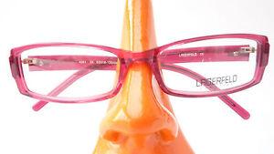 Brille Designer Lagerfeld Damen Gestell auffallend pink schmal Plastik Gr M - Merzig, Deutschland - Brille Designer Lagerfeld Damen Gestell auffallend pink schmal Plastik Gr M - Merzig, Deutschland