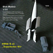 "EMW A-4b ""Doppeldecker-V2"" (biplane-V2)  1/72 Bird Models Umbausatz / conversion"