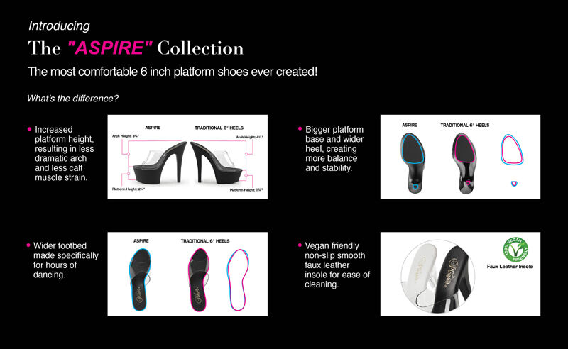 PLEASER Sexy 6  Heel Stripper Most Comfortable Comfortable Comfortable Platform Black Glitter shoes d17c16