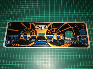 Taito Table Space invaders part 2 color Cocktail control panel original 1980