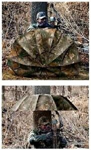 Allen Magnum Deer Stand Ground Blind Hunting Camo Umbrella