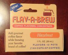 FLAV-A-BREW HAZELNUT COFFEE FLAVORING SUGAR FREE