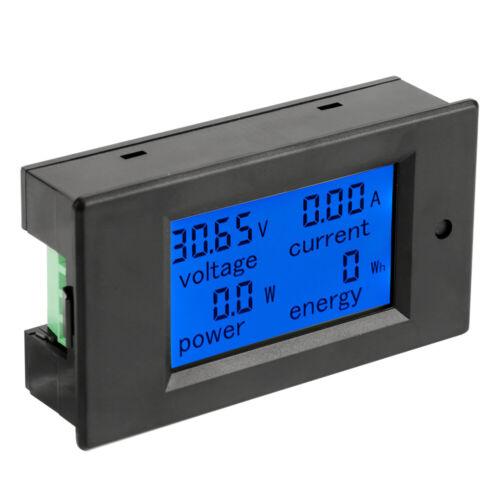 NEU Stromzähler DC100V 50A Voltmeter Amperemeter Stromspannung Leistungsmesser