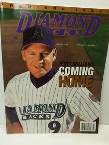 Arizona-Diamond-Backs-MLB-Baseball-Magazine-Volume-1-Issue-1-March-1998