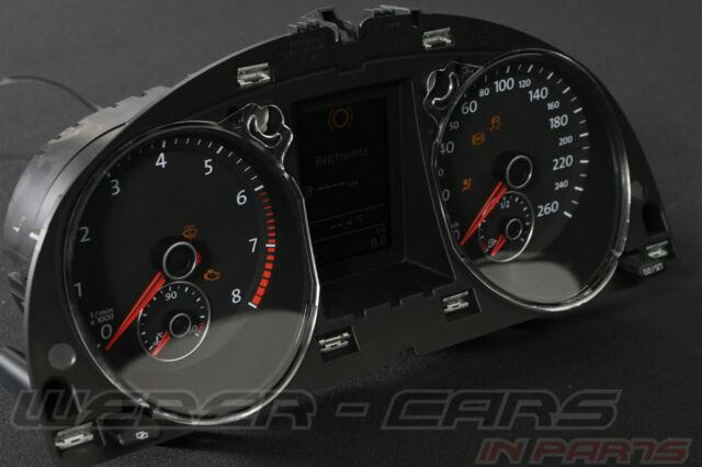 Vw passat b7 TFSI Store compteur de vitesse Combiné Instrument AMF FIS 3aa920870 Speedo 23 HM