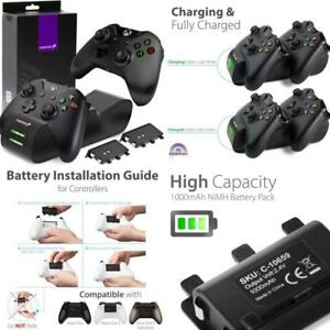 Details about Fosmon Xbox One / One X / One S Controller Charger, [Dual  Slot] High Speed Docki