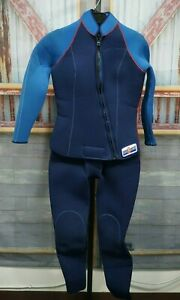 2931155f6c Women s SeaQuest 2-Piece Scuba Diving Full Wetsuit Size Large L Blue ...