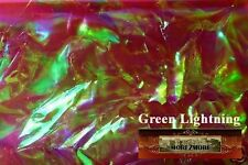 M00101 MOREZMORE Angelina Fantasy Film CRYSTAL GREEN LIGHTNING Bondable 10' T20