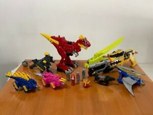 Power Rangers Dino Charge Megazord Blaster Sword Chargers Lot