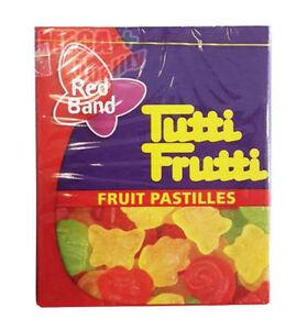 Red Band Tutti Frutti Fruit Pastilles Gelatin Dessert Fruit