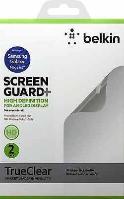 Belkin F8m666vf Displayschutzfolie Hd Für Samsung Galaxy Mega 6.3