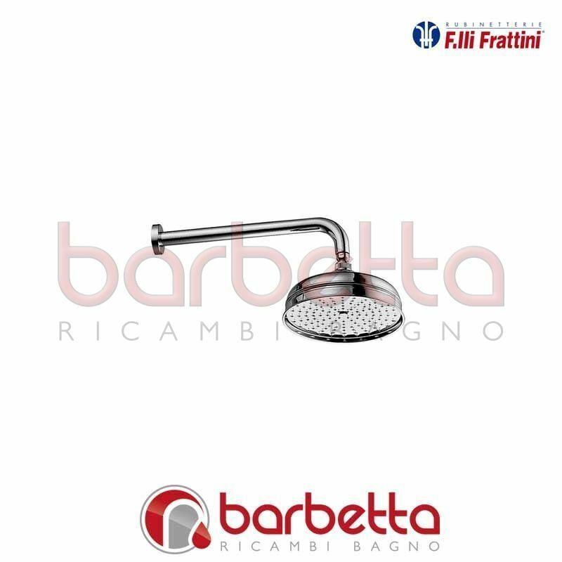 BRACCIO DOCCIA CON SOFFIONE ANTICALCAREO MORGAN PRESTIGE FRATTINI 92700