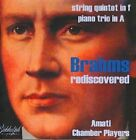 Brahms Rediscovered - String Quintet in f, Piano Trio in A (CD, Mar-2008, Biddulph Recordings)