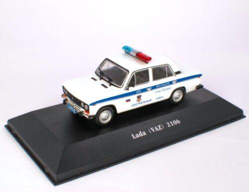 Lada VAZ 2106 Russia Police 1976