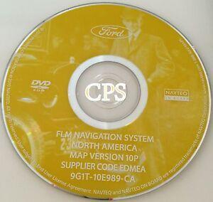 Genuine OEM FLM Ford Navigation DVD 10P Map Rel 92011 Update