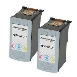 2PK-CL41-Color-Cl-41-Ink-Cartridge-for-Canon-PIXMA-MP140-MP170-MP450-MP160-MP150