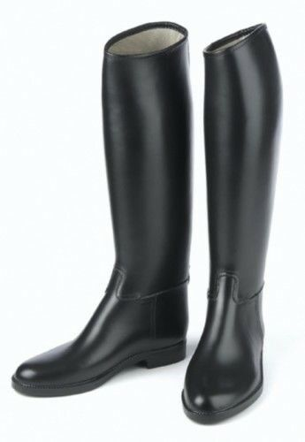 Derby Ladies Lined Rubber English Riding Boots with Show Appearance
