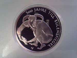 10 Euro Münze 2011 500 Jahre Till Eulenspiegel Pp Ebay