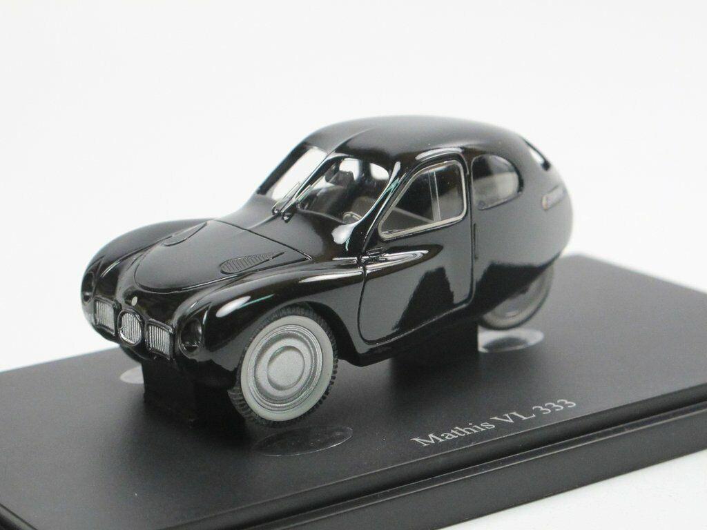 Autocult 03015-MATHIS VL 333 prougeotype de France de 1942 voiture miniature 1 43