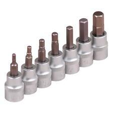 Zoll Werkzeug Harley 3/8 Biteinsatz Nüsse für Inbus Schrauben Steckschlüssel Nuß