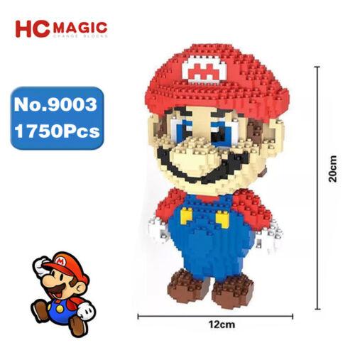Microblock DIY Bausteine Red Big Kinder Baukästen Modell Bausätze Figure 1750PCS