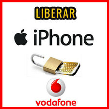 IPHONE VODAFONE ESPAÑA/SPAIN--LIBERAR//UNLOCK-IPHONE 4,5,6,7 RÁPIDA - FAST