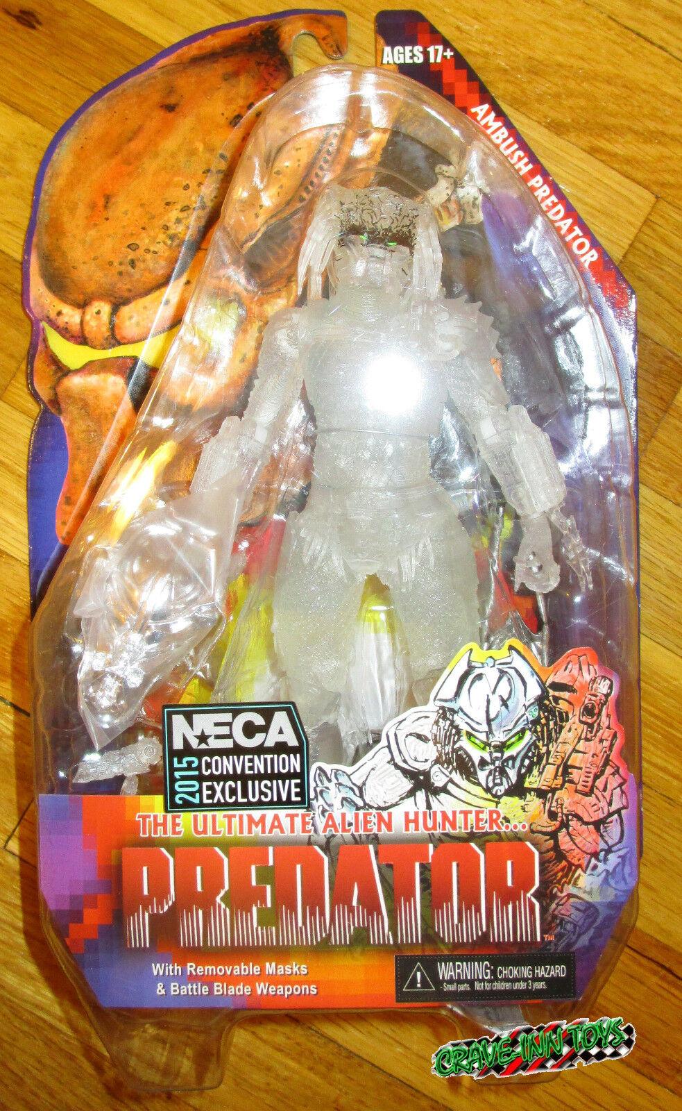 entrega gratis Sdcc 2015 Figura De Neca emboscada emboscada emboscada Projoator 7  exclusivo de armadura clara  mas preferencial