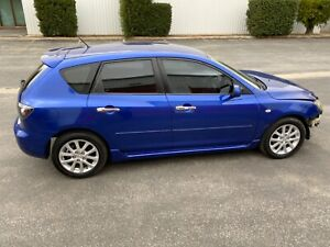 2008-Mazda-3-automatic-very-low-83km-very-minor-damage-repairable-drives