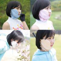 Golf Cheek Mask Uv Protection Outdoor Tennis Jogging Face Sun Shade Wear Aids