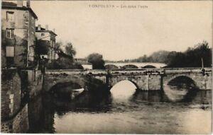 CPA Confolens Les deux Ponts FRANCE (1074231)
