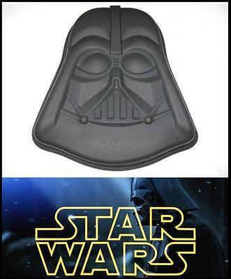 30cm Darth Vader Silicone Cake Pan Large StarWars Baking Tray Birthday Cake Mold