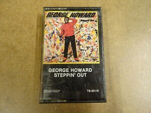 MUSIC-CASSETTE-GEORGE-HOWARD-STEPPIN-039-OUT