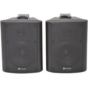 "Paar 5.25"" 2-Wege Stereo Lautsprecher -90W 8 Ohm schwarz Wandmontage ..."