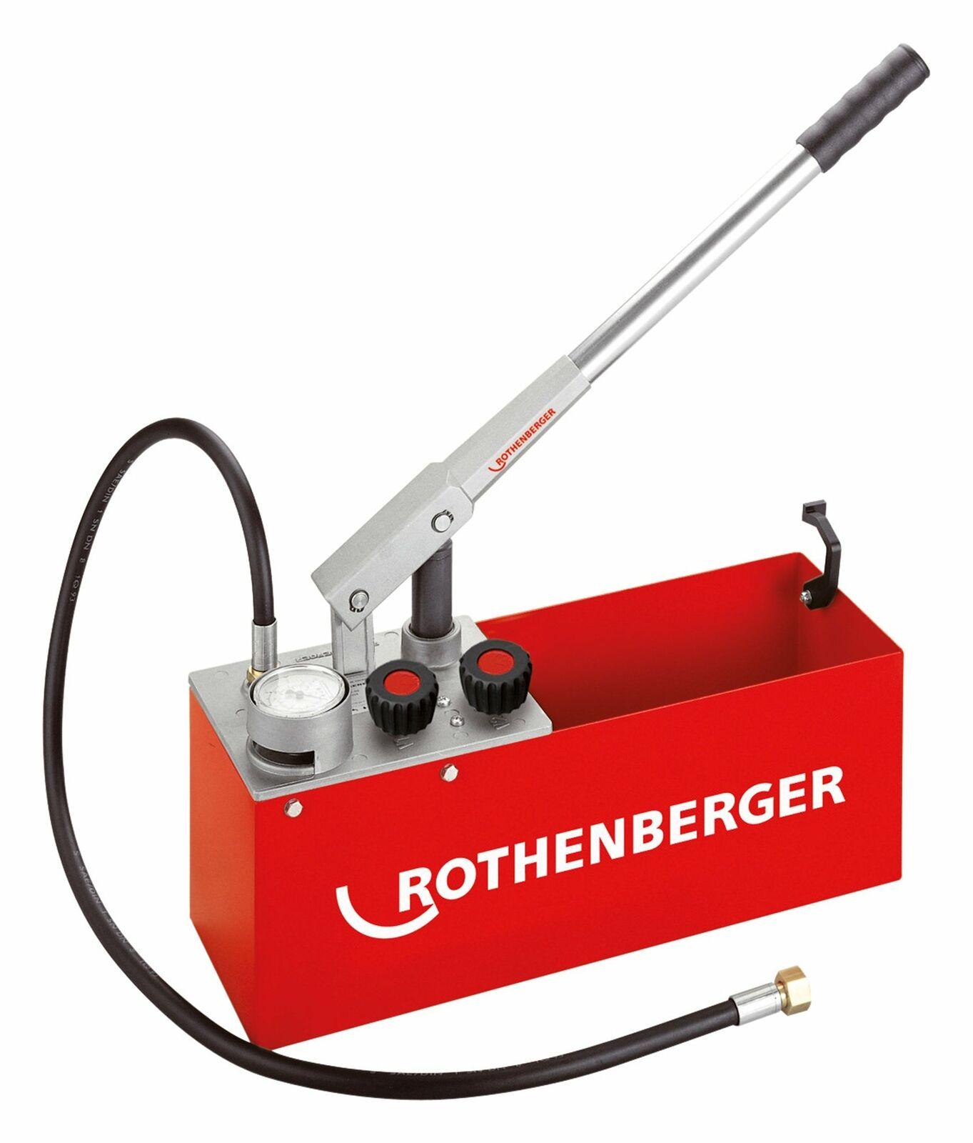 Rothenberger Prüfpumpe RP50-S - 6.0200
