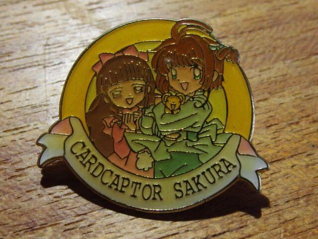 USED Card Captor SAKURA PINS BADGE  CLAMP from Japan F/S C